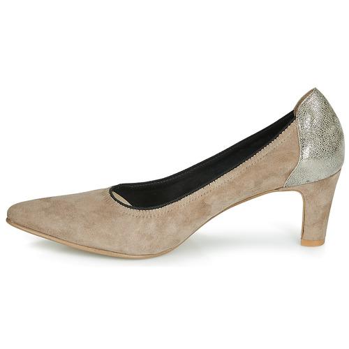 Zapatos De Elegancy Mujer Beige Myma Tacón JTc1lKF