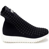 Zapatos Mujer Zapatillas altas Gioselin LIGHT STUDS BLACK Nero