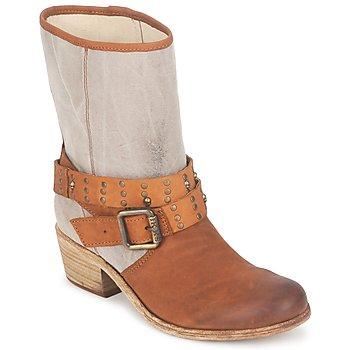 Zapatos Mujer Botas urbanas Ikks INES Marrón / Topotea
