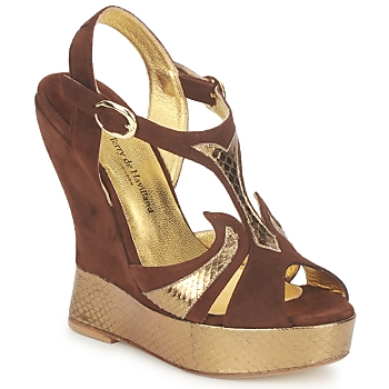 Zapatos Mujer Sandalias Terry de Havilland FARAH Chocolate