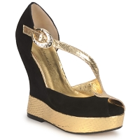 Zapatos Mujer Sandalias Terry de Havilland PENNY Black-gold