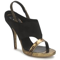 Zapatos Mujer Sandalias Gaspard Yurkievich T4 VAR7 Negro / Dorado