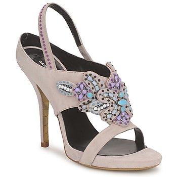 Zapatos Mujer Sandalias Gaspard Yurkievich T4 VAR6 Beige