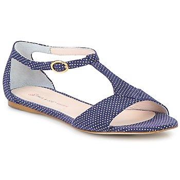 Zapatos Mujer Sandalias Paul & Joe Sister PERRY Marino / Blanco