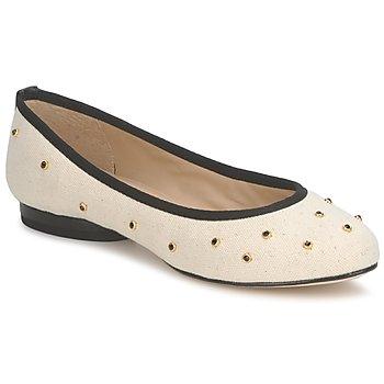 Zapatos Mujer Bailarinas-manoletinas Kat Maconie DELILAH Blanco / Roto / Negro