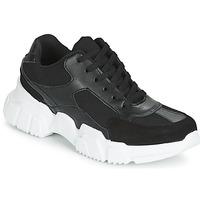 Zapatos Mujer Zapatillas bajas Yurban JILIBELLE Negro / Blanco