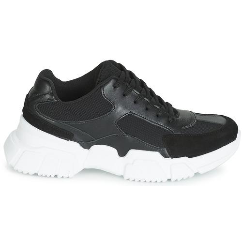 Zapatos Zapatillas NegroBlanco Bajas Mujer Yurban Jilibelle ARj45L