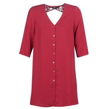 textil Mujer vestidos cortos Vero Moda VMRICKY Burdeo