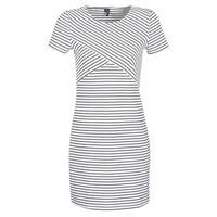 textil Mujer vestidos cortos Vero Moda VMVIGGA Blanco / Negro