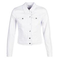 textil Mujer chaquetas denim Vero Moda VMHOT SOYA Blanco