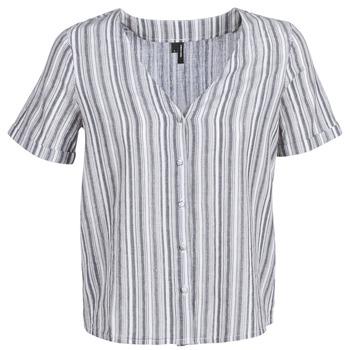 textil Mujer Tops / Blusas Vero Moda VMESTHER Marino / Blanco