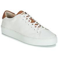 Zapatos Mujer Zapatillas bajas Pataugas KELLA Blanco / Cognac