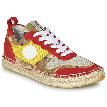 Zapatos Mujer Zapatillas bajas Pataugas MARCIA Amarillo / Rojo