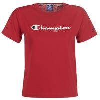 textil Mujer camisetas manga corta Champion 111393-RIR Burdeo