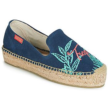 Zapatos Mujer Alpargatas Banana Moon VERAO Azul