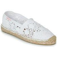 Zapatos Mujer Alpargatas Banana Moon NIWI Blanco