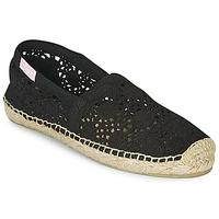 Zapatos Mujer Alpargatas Banana Moon NIWI Negro