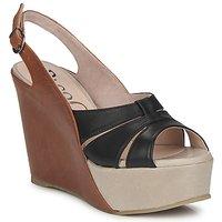 Zapatos Mujer Sandalias Paco Gil RITMO SELV Camel / Negro