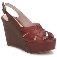 Zapatos Mujer Sandalias Paco Gil RITMO SELV Camel / Burdeo