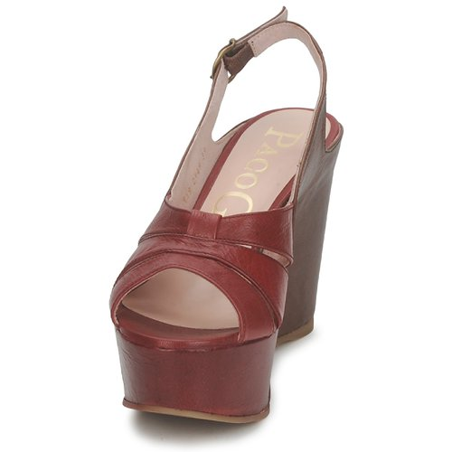 Los zapatos más populares para hombres y mujeres Camel Zapatos especiales Paco Gil RITMO SELV Camel mujeres / Burdeo 83675f