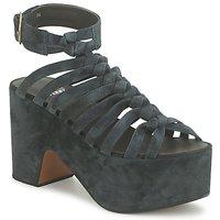 Zapatos Mujer Sandalias Michel Perry 12676 Dark