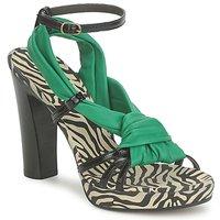 Zapatos Mujer Sandalias Michel Perry 12709 Esmeralda