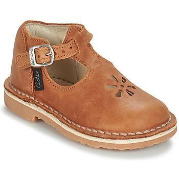 Zapatos Niños Bailarinas-manoletinas Aster BIMBO Cognac