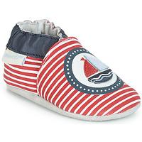 Zapatos Niños Pantuflas para bebé Robeez MY CAPTAIN Rojo / Azul / Blanco