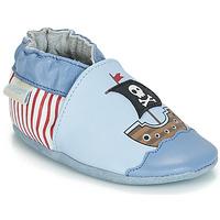 Zapatos Niño Pantuflas para bebé Robeez PIRATE'S BOAT Azul