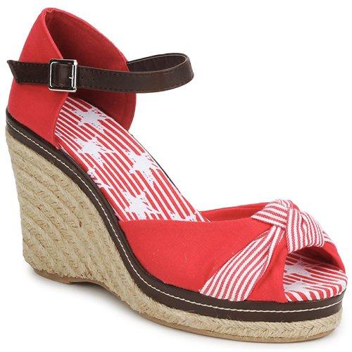 Sandalias Patty Zapatos Mujer Rojo Stylistclick gYvbfIy76