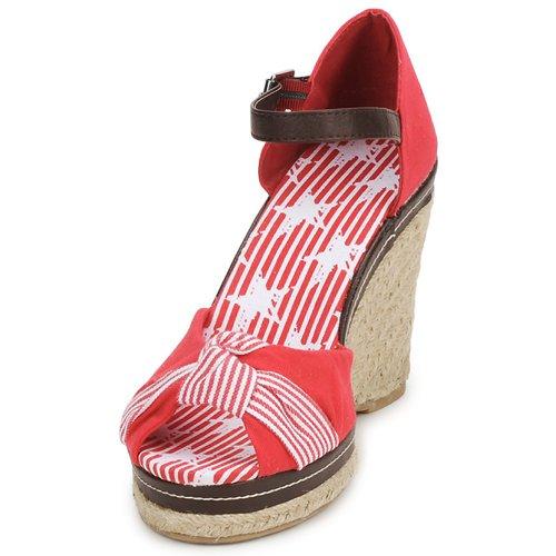 Stylistclick Patty Rojo Mujer Sandalias Zapatos TJ31FKulc
