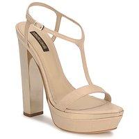 Zapatos Mujer Sandalias Roberto Cavalli RDS735 Beige / Nude
