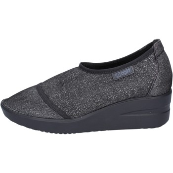 Zapatos Mujer Slip on Agile By Ruco Line slip on mocasines negro textil BT429 negro