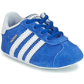 Zapatos Niños Zapatillas bajas adidas Originals GAZELLE CRIB Azul