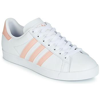 Zapatos Mujer Zapatillas bajas adidas Originals COURSTAR Blanco / Rosa