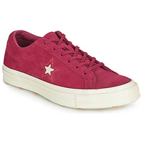 Zapatos Mujer Zapatillas bajas Converse ONE STAR LOVE IN THE DETAILS SUEDE OX Fucsia