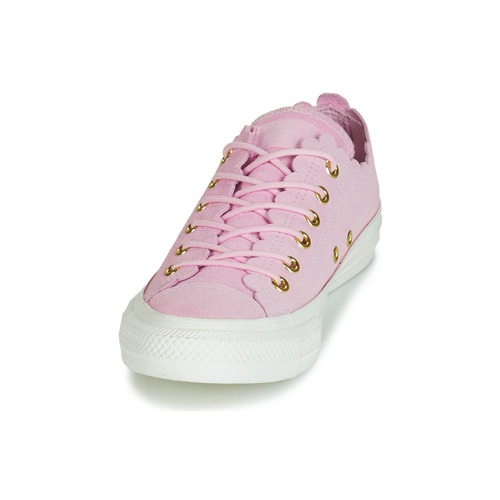 Converse Thrills Suede Bajas Rosa Frilly Zapatos Zapatillas All Chuck Taylor Mujer Ox Star 34jcAR5Lq