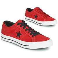 Zapatos Zapatillas bajas Converse ONE STAR DARK STAR VINTAGE SUEDE OX Rojo