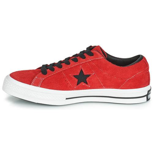 Zapatos One Ox Converse Dark Star Vintage Suede Rojo Zapatillas Bajas 0wON8nyvm