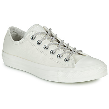 Zapatos Zapatillas bajas Converse CHUCK TAYLOR ALL STAR LEATHER OX Beige
