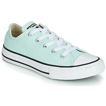 Zapatos Niña Zapatillas bajas Converse CHUCK TAYLOR ALL STAR SEASONAL CANVAS OX Azul