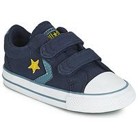 Zapatos Niños Zapatillas bajas Converse STAR PLAYER 2V CANVAS OX Azul
