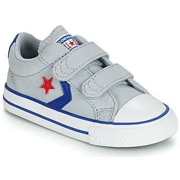 Zapatos Niños Zapatillas bajas Converse STAR PLAYER 2V CANVAS OX Gris