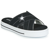 Zapatos Mujer Zuecos (Mules) Converse ONE STAR SANDAL SANDALISM SLIP Negro