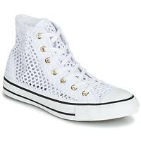 Zapatos Mujer Zapatillas altas Converse CHUCK TAYLOR ALL STAR HANDMADE CROCHET HI Blanco