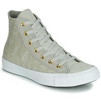 Zapatos Mujer Zapatillas altas Converse CHUCK TAYLOR ALL STAR SUMMER PALMS HI Verde