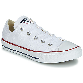 Zapatos Niña Zapatillas bajas Converse CHUCK TAYLOR ALL STAR BROADERIE ANGLIAS OX Blanco