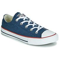 Zapatos Niña Zapatillas bajas Converse CHUCK TAYLOR ALL STAR BROADERIE ANGLIAS OX Marino