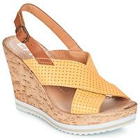 Zapatos Mujer Sandalias Elue par nous EMPIRE Amarillo