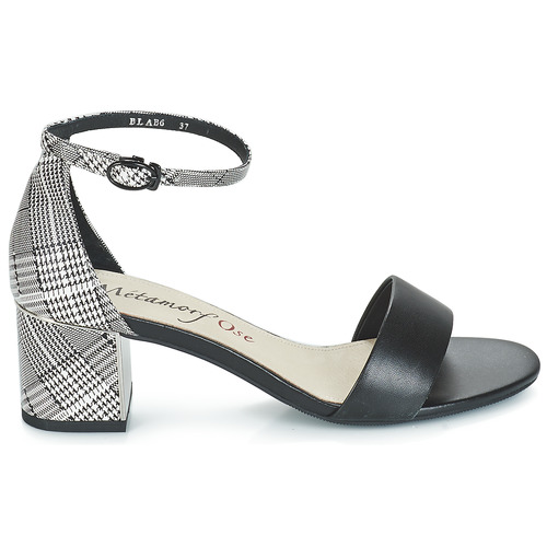 Zapatos Metamorf'ose Sandalias Negro Embrasa Mujer vOw8Nn0m